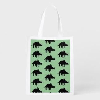 Styracosaurus Dino Dinosaur Grocery Bag