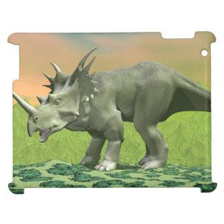 Styracosaurus dinosaur - 3D render iPad Case