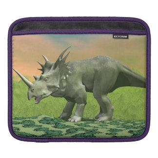 Styracosaurus dinosaur - 3D render iPad Sleeve