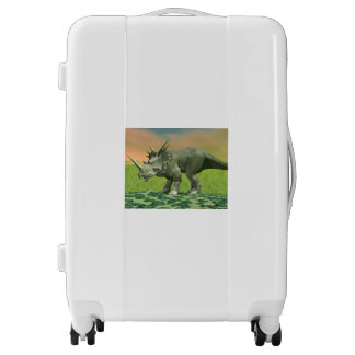 Styracosaurus dinosaur - 3D render Luggage