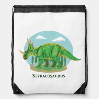 Styracosaurus Drawstring Backpack