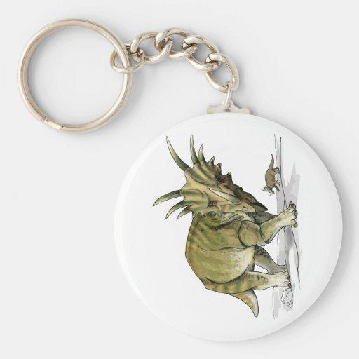 Styracosaurus Keychain