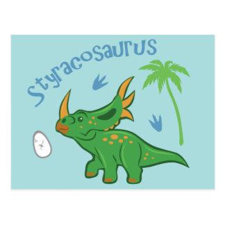 Styracosaurus lindo postal