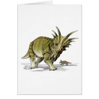Styracosaurus Tarjeta De Felicitación