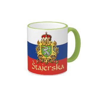Styria (Slovenia) Coat of Arms Ringer Mug