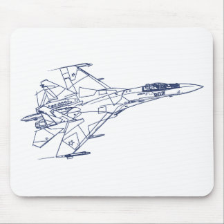 SU-27 Flanker Mouse Pad