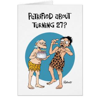 Su 27mo cumpleaños tarjeta de felicitación