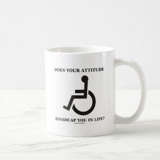 ¿Su actitud le perjudica en vida? Taza De Café