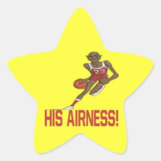 Su Airness Pegatina Forma De Estrella