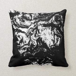 """""""Su alma mira"""" - la almohada deliciosa Cojín Decorativo"""