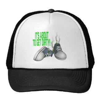 Su alrededor conseguir sucio gorras