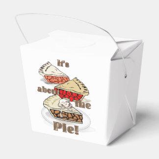 Su alrededor la empanada cajas para detalles de boda