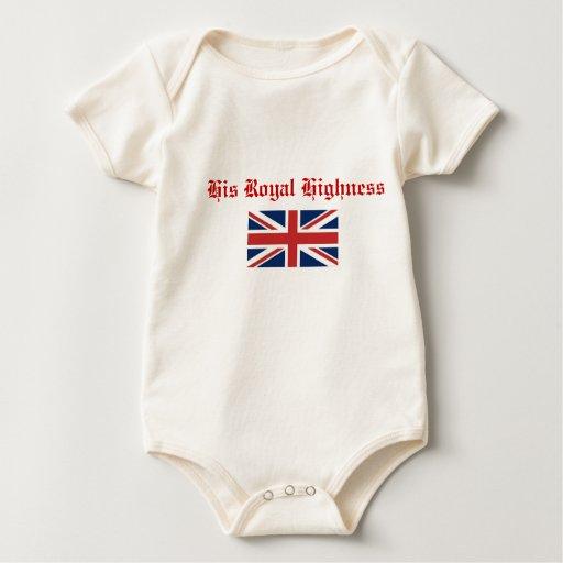 Su alteza real trajes de bebé
