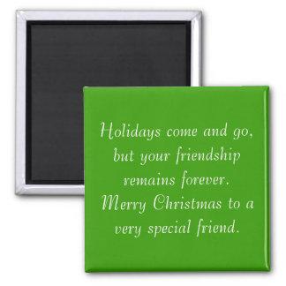 Su amistad sigue siendo imán del navidad