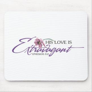 Su amor es Mousepad extravagante