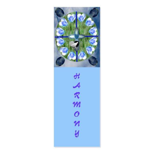 Su amor, mini señales tarjetas de visita mini