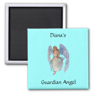 Su ángel de guarda imán de frigorifico