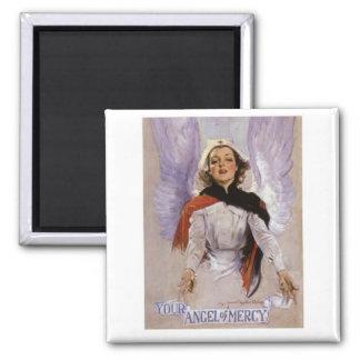 Su ángel del imán del oficio de enfermera de la mi