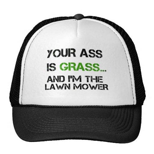 su asno es hierba gorro de camionero