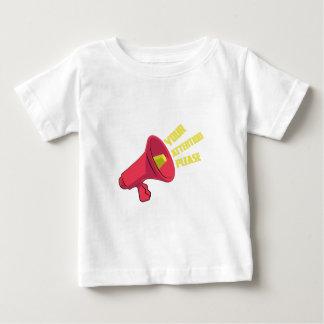 Su atención por favor tee shirt