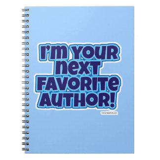 Su autor preferido siguiente libreta