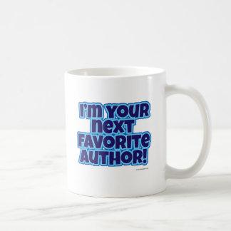 Su autor preferido siguiente tazas de café