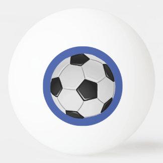 Su bola de ping-pong del fútbol del equipo pelota de tenis de mesa