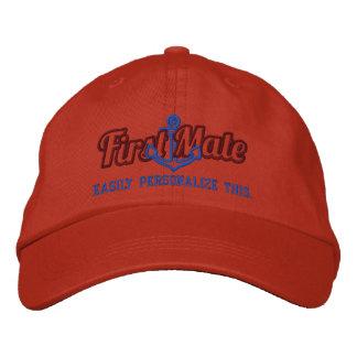 Su bordado náutico conocido del ancla del primer gorra de beisbol bordada
