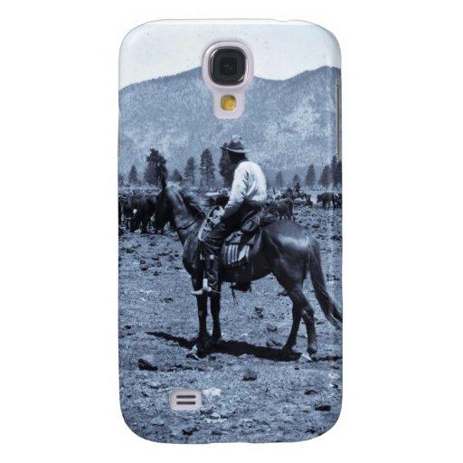 Su caballo y su ganado son sus solamente compañero