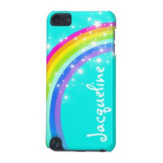 Su caja de iPod de la aguamarina del arco iris de Funda Para iPod Touch 5G