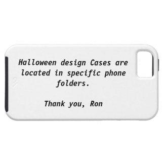 Su caja de la casamata de Halloween iPhone 5 Cárcasa