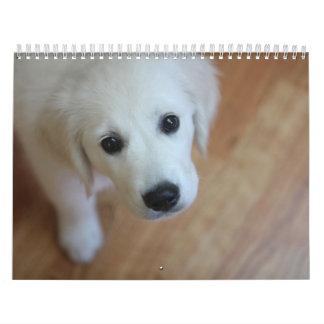 Su calendario adorable del mascota