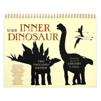 Su calendario interno 2016 del dinosaurio 1