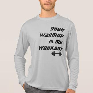 Su calentamiento es mi camisa del atleta del entre