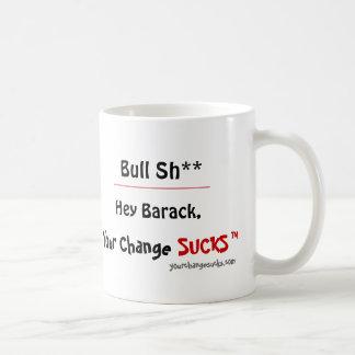 Su cambio CHUPA no. 1 de la taza de café