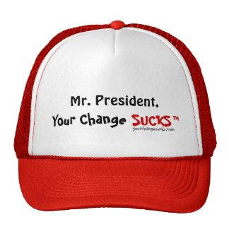 Su cambio CHUPA no. 1 del gorra