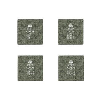 Su camuflaje Camo de Digitaces del texto guarda Imán De Piedra
