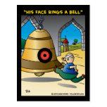 """""""Su cara suena una Bell """" Postal"""