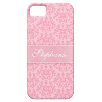 """Su caso rosa claro del iphone 5"" del damasco iPhone 5 Carcasa"