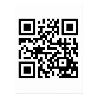 Su código rápido de QRS en materia Tarjeta Postal