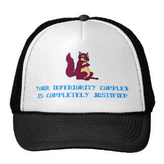 Su complejo de inferioridad se justifica totalment gorra