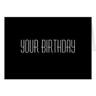 Su cumpleaños no es nadie hora conseguida para Da Tarjetas