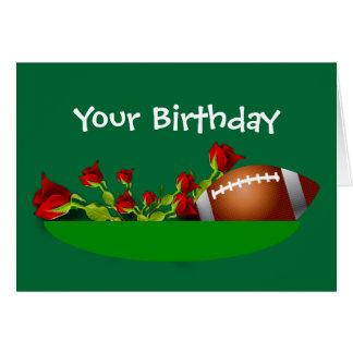 Su cumpleaños tarjeta de felicitación