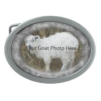 SU de la cabra de la foto hebilla del cinturón abs Hebillas De Cinturon Ovales