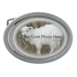 SU de la cabra de la foto hebilla del cinturón de Hebillas Cinturon Ovales