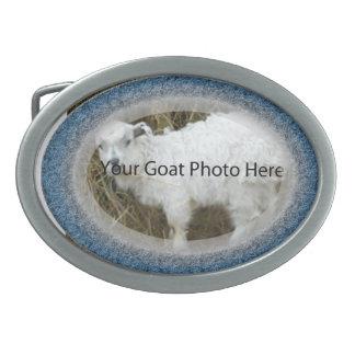 SU de la cabra de la foto hebilla del cinturón de Hebilla Cinturón