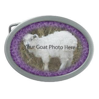 SU de la cabra de la foto hebilla del cinturón Hebilla De Cinturón Oval