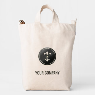 Su de la compañía diseño adaptable fácil personal bolsa de lona duck