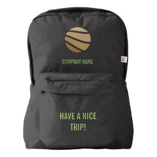 Su de la compañía diseño adaptable fácil personal mochila