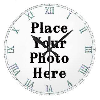 Su de la foto reloj de pared aquí